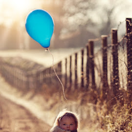 Lost Balloon  by Claire Conybeare - Chinchilla Photography - Babies & Children Toddlers