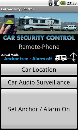 Car Security Control