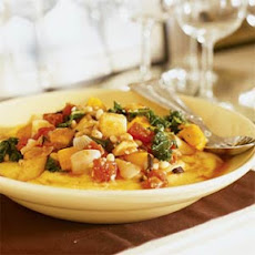 Autumn Vegetable Ragout with Soft Polenta