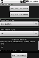 Screenshot of O.T. Auto Text