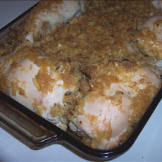 Hawaiian Stuffed Chicken Breasts