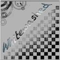 Whitewashed Clock icon