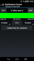 Screenshot of LightBar XPERIA