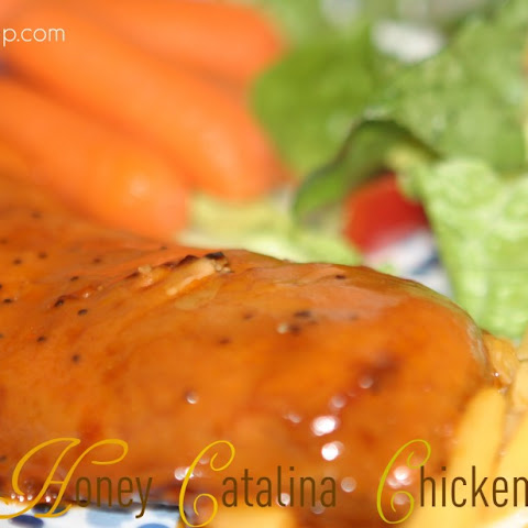 Honey Catalina Chicken in the Crockpot