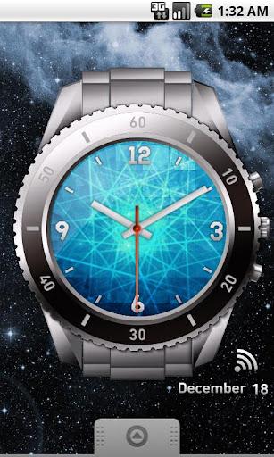 Star Laser Clock