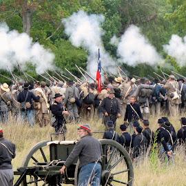 Civil War by Jim Antonicello - People Group/Corporate ( reenachment, ohio, civil war, south, north )