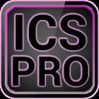 ICS Pro PINK GOLauncher Widget icon