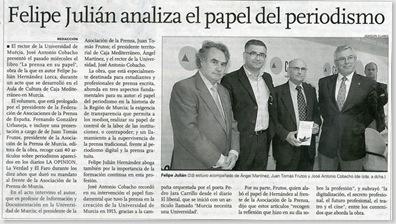 Reseña del suplemento Paraninfo, del diario La Opinión
