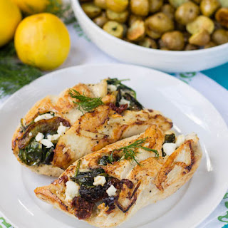 Healthy Spinach And Feta Stuffed Chicken Recipes