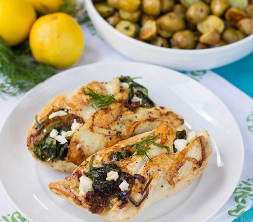 Chicken Stuffed With Spinach And Feta Recipes — Dishmaps