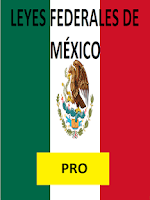 Screenshot of Leyes Federales de México PRO