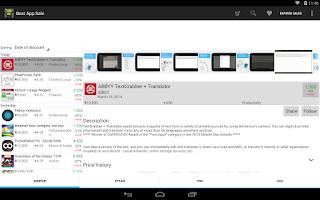 Screenshot of Best App Sale