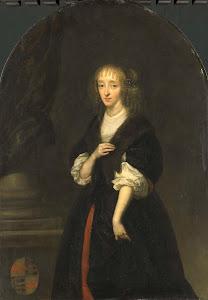 RIJKS: Caspar Netscher: painting 1663