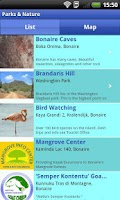 Screenshot of Bonaire App