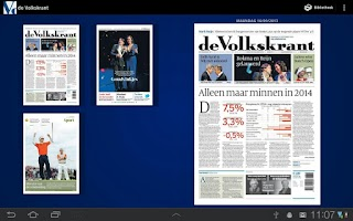 Screenshot of de Volkskrant