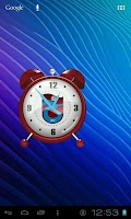 Screenshot of Trabzonspor Analog Clock
