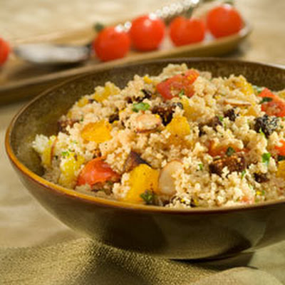 Balsamic Couscous With Figlets & Cherry Tomatoes
