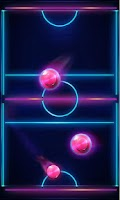 Screenshot of Air Hockey Glow 2