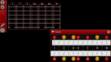Screenshot of smart Chords & tools (guitar..