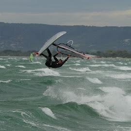 Hanging in the Air by Jefferson Welsh - Sports & Fitness Watersports