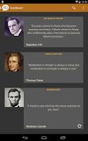Screenshot of Brilliant Quotes PREMIUM