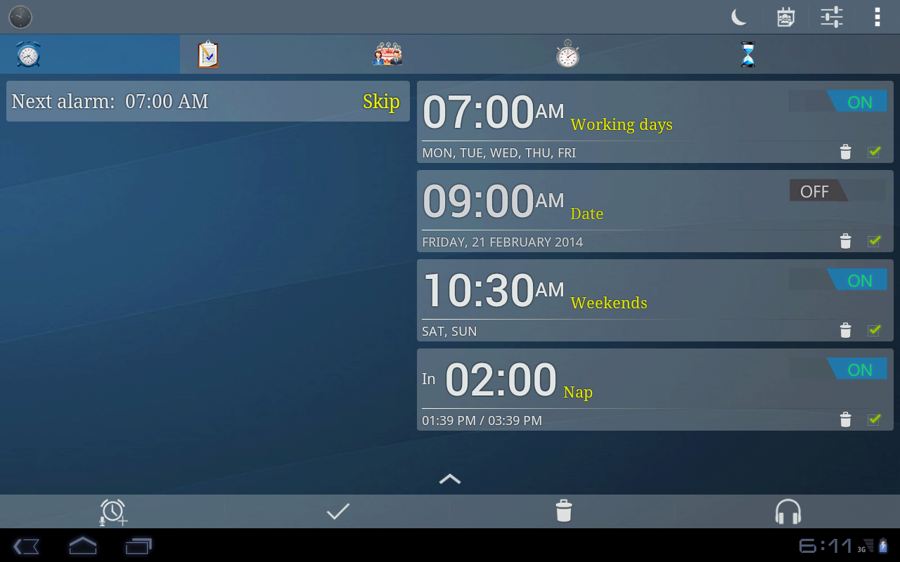 Alarm Plus Millenium Screenshot 8