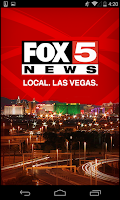 Screenshot of FOX5 Las Vegas Mobile