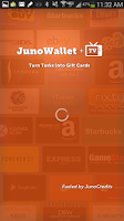 Screenshot of JunoWallet Earn Gift Cards NOW