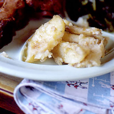 Smother-Fried Garlic Potatoes