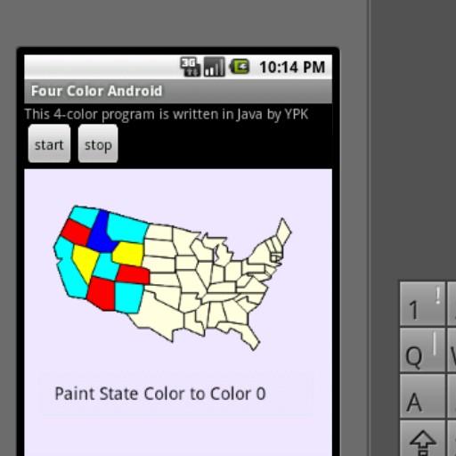 四色問題:以美國本土48州地圖為例 LOGO-APP點子