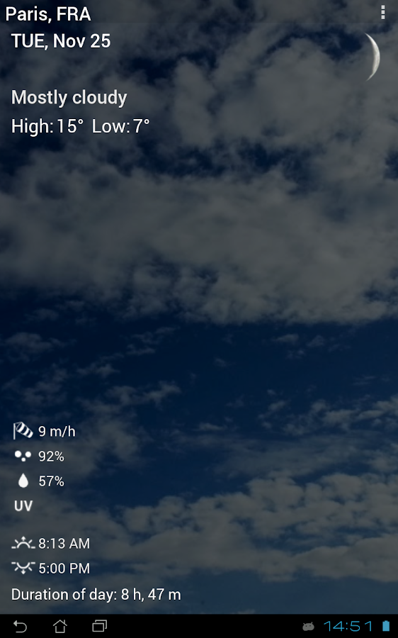 3D Sense Clock & Weather Screenshot 12