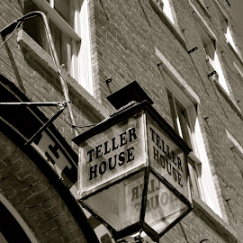 Teller House, Historic District by Kathleen Koehlmoos - City,  Street & Park  Historic Districts ( historic districts, colorado mining town, old signs, old mining town, georgetown colorado, teller house )