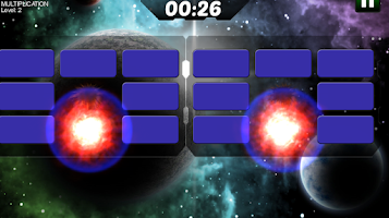 Screenshot of Astro Explosions Brain trainer
