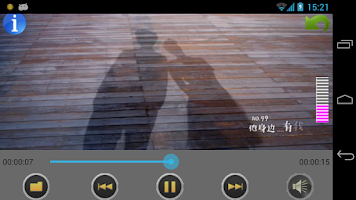 Screenshot of Video Player