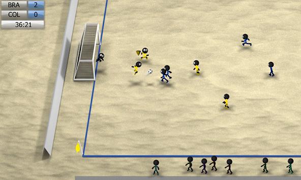 Stickman Soccer 2014 apk screenshot
