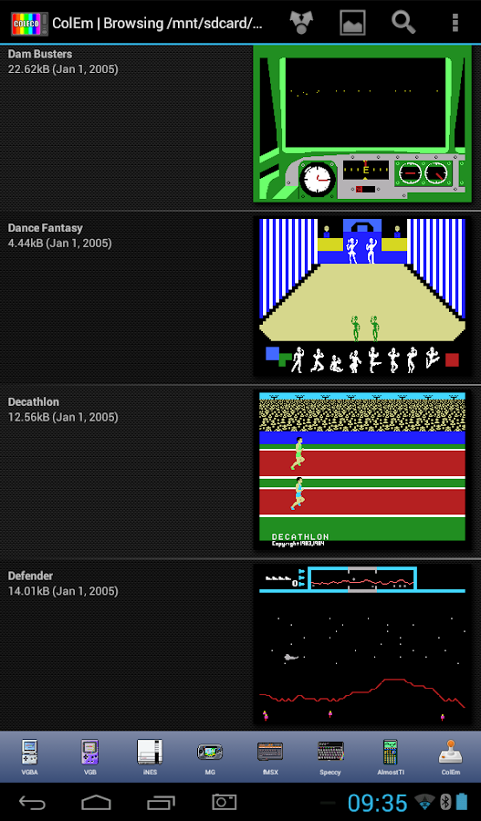 ColEm Deluxe - Coleco Emulator Screenshot 16