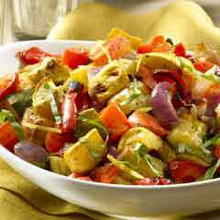 Lemon-basil Roasted Vegetables