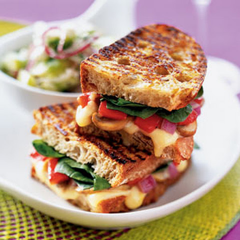 Grilled Gruyere Panini With Pickled Sweet Onions Recipes — Dishmaps