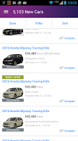 Screenshot of Cars.com – New & Used Cars
