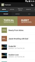 Screenshot of Horizon Christian Fellowship