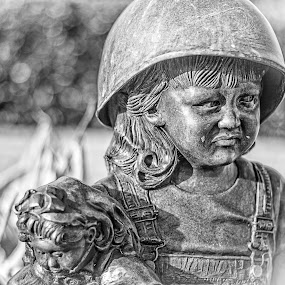War Child by Jon Cody - Buildings & Architecture Statues & Monuments ( pensacola, memorial, florida, statues, monument, war, military,  )