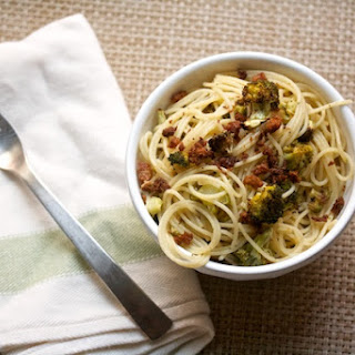 Brown Butter Broccoli Spaghetti