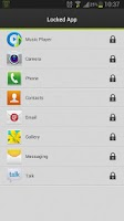 Screenshot of Applock Master--Lock your apps