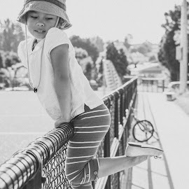 Kirsten by Emman Pelayo - Babies & Children Child Portraits ( child, kirsten, ballerina, preschool, tippy toes )