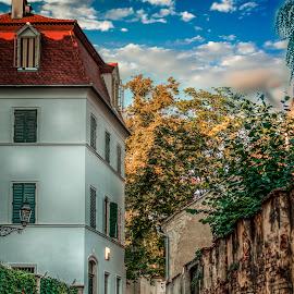 Upper town Zagreb by Hrvoje Kunović - Buildings & Architecture Homes ( upper, buildings, zagreb, town, homes )