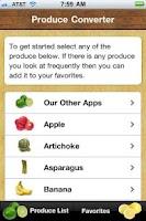 Screenshot of Produce Converter
