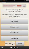 Screenshot of Football Trivia