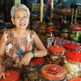 Shop Owner by Koh Chip Whye - City,  Street & Park  Markets & Shops (  )