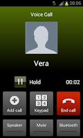 Screenshot of Call Me! Fake a Call