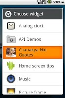 Screenshot of Chanakya Niti